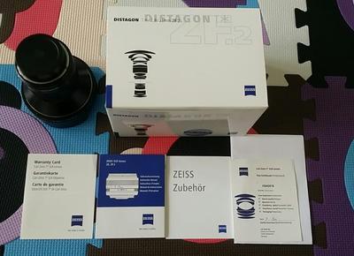 蔡司21 2.8 zf2尼康卡口