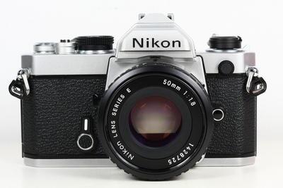 尼康 NIKON FM 日产135胶片单反相机 + nikk