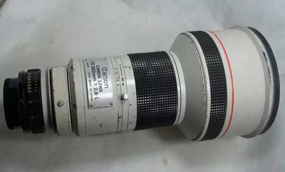 佳能FD口300mm F2.8L定焦镜头