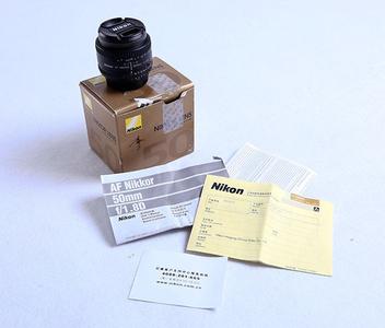 尼康50mm1.8