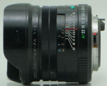 宾得 Pentax FA31 F1.8 AL Limited