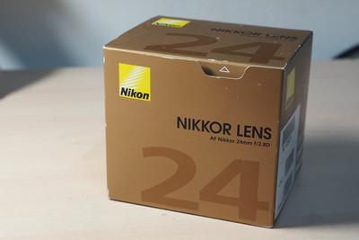 全套包装98新nikon 24 2.8D镜头