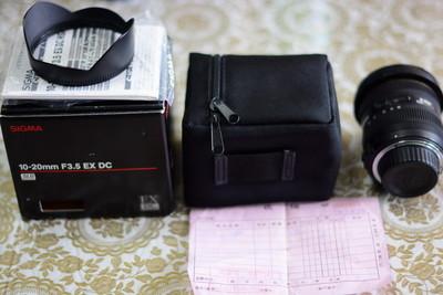 尼康 适马10-20mm,F3.5,尼康卡口超广角镜头