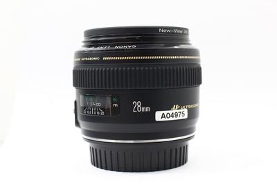 成色不错的佳能28mm f/1.8广角镜头,价格;1900元