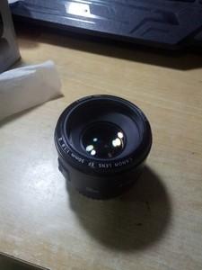 佳能小痰盂 50mm  f1.8二代