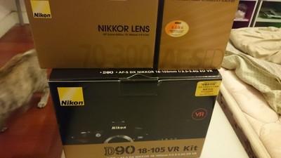 尼康D90 18-55VR套机 18-70  70-300G