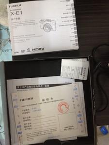 国行富士微单XE1 35mmf1.4套机
