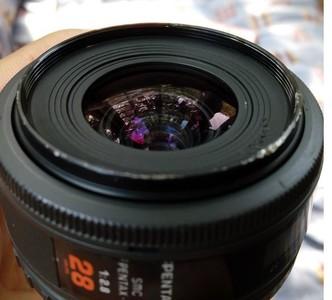宾得红字Pentax F 28mm 2.8小广角经典镜头