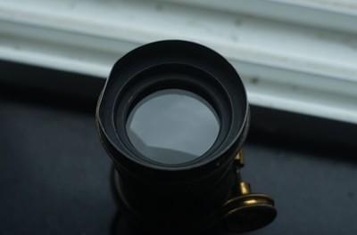 w.m Hume 6英寸 F 3.5 petzval镜头