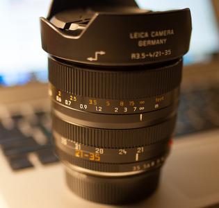 Leica Vario-Elmar-R 21-35 mm f/3.5-4.0 Asph