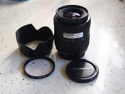 奥林巴斯 Olympus 单反镜头 14-45mm/3.5-