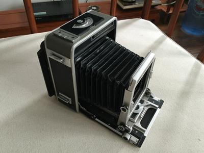 速度出super 格拉菲4x5相机成色85新, 带富士侬21