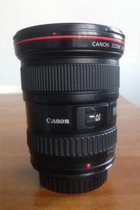 佳能 17-40mm f/4L USM红圈L级广角镜头 箱全