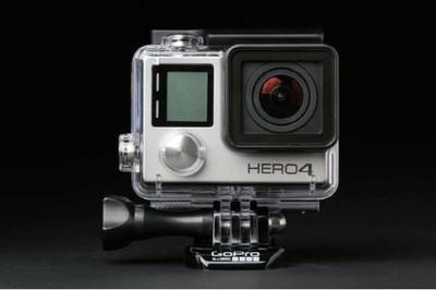 GOPRO 4 HERO银色版本,带屏幕款,可换成色好的单反