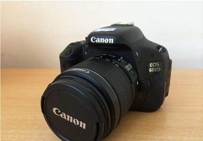 佳能 单反相机 600D 套机 自用单反相机  原装主配