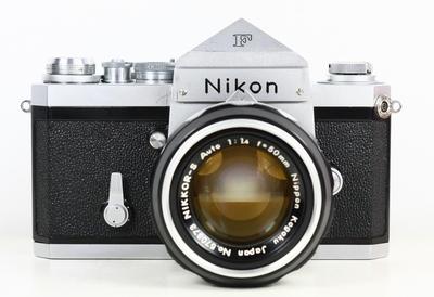 尼康 NIKON 大F 尖顶 + NIKKOR 50/1.4
