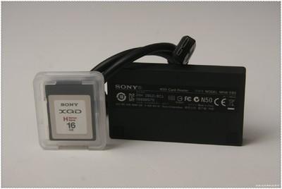 索尼 出售索尼16G 125M/S XQD卡和读卡器套装 尼
