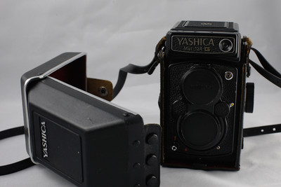 雅西卡 yashica 124G 中画幅胶片相机