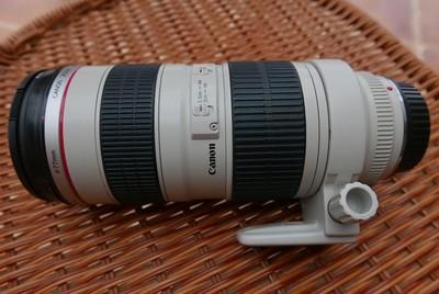 98新佳能EF70-200/2.8(一代小白,不带防抖,包装