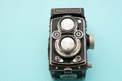 禄来Rolleiflex 施耐德Schneider镜头 Xenar 75 3.5 F 双反相机