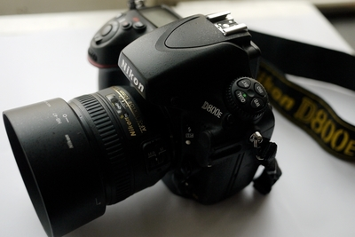 尼康(Nikon) D800E  +50 1.4G
