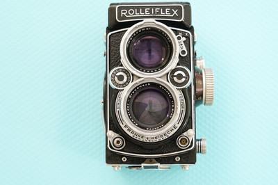 禄来Rolleiflex 施耐德Schneider镜头 Xenotar 80 2.8 双反相机