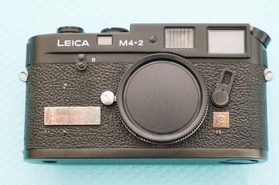 徕卡leica M4-2 旁轴相机,徕卡相机,胶片相机,黑色