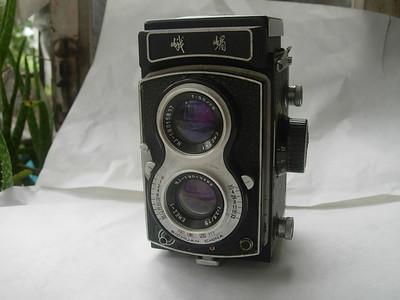 很新峨眉120双反相机,编号4848,收藏使用佳品,送皮套!