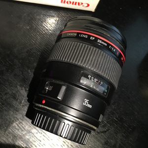 出自用的佳能 35mm F1.4 L一代镜头