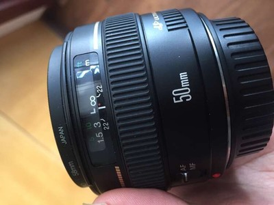 佳能50mm  1.4
