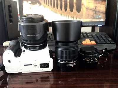 K30三个镜头套机18-55   50-200  A50/1