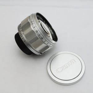 珍品 银色镀镍 佳能canon 50/1.2 L39 徕卡口