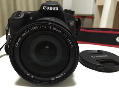 Canon 70d  18-200mm 套机