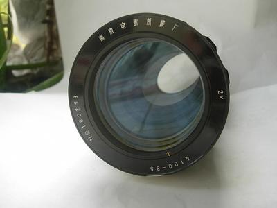 很新电影镜头,南京电影机械厂生产,重达1公斤多