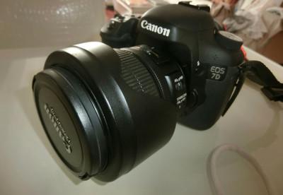 EOS 7D配 15-85镜头