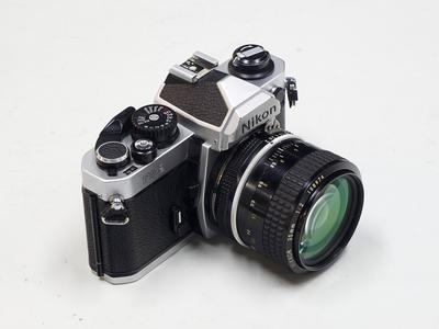 尼康 Nikon FM2 机身 + AI 35 F2 镜头