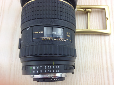 出尼康卡口图丽100MM F2.8  MACRO AT-X