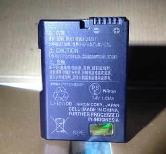 95新 尼康DF 原装电池EN-EL14 D3300 D53