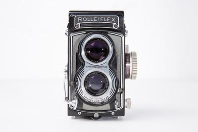 禄莱/禄来中画幅双反相机 Rolleiflex 3.5T 天