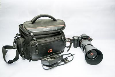 索尼a350机身、75-300长焦镜头出售