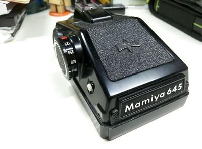 mamiya645眼平取景器带测光