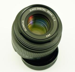 奥林巴斯 ZUIKO 50mm/F2 macro 微距镜头