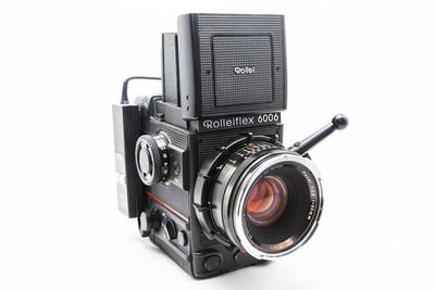 【近新】Rolleiflex 禄来 6006 HFT 80/