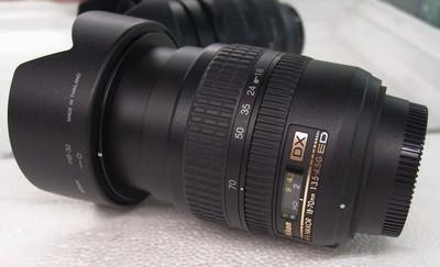 尼康18-70mm f/3.5-4.5G ED 广角镜头完美成色如新