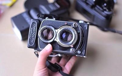 autocord  美能达  双反 胶片 相机 成色较新