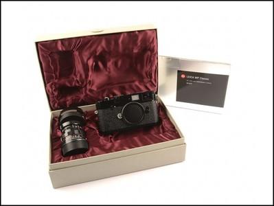 徕卡 Leica MP Classic + 50/2 Rigid 黑漆 (489/500)