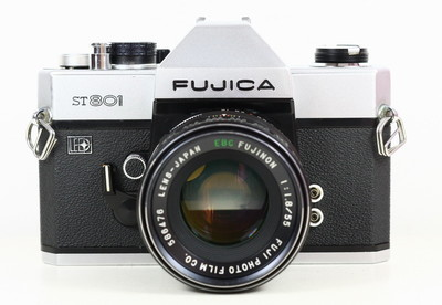 FUJICA ST801 富士 日产135胶片单反相机 M4