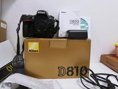 尼康D810 单机  包装齐全   三码合一