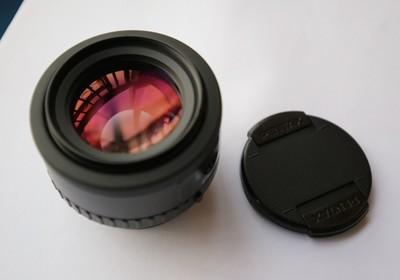 宾得PENTAX FA50 1.4,日亚买的,全新镜头转了