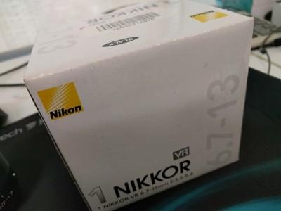尼康1 Nikkor VR 6.7-13mm 超广镜头